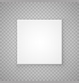 open paper square box vector image