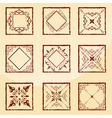 set vector image vector image