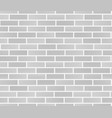 white brick wall texture seamless brick wall vector image