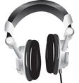 Modern headphones vector image