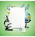 paper science vector image