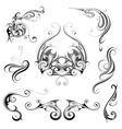 Set of grphic design elements vector image