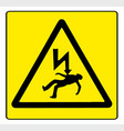 danger electricity vector image vector image