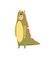 man wearing dinosaur animal costume person