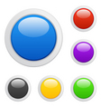 multicolored buttons vector image vector image