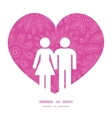 pink abstract flowers texture couple in love vector image vector image