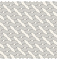 seamless rounded interlacing lines pattern modern vector image vector image