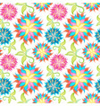 Spring or summer flowers pattern floral
