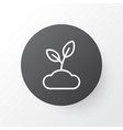 sprout icon symbol premium quality isolated plant vector image vector image