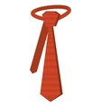 tie elegant isolated icon vector image