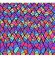 Abstract Sketched Colorful Seamless Background vector image vector image