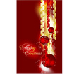 background for Xmas design vector image vector image