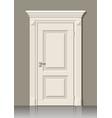 door in the wall vector image vector image