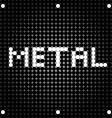 metal dots vector image vector image
