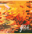 scrambled glitch effect background vector image vector image