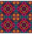 seamless colorful Geometric print vector image vector image