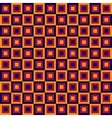 Seamless geometric pattern with squares vector image vector image
