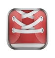 Square icon for run app or games vector image vector image