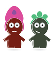 funny people icon color vector image
