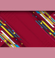 abstract background with dotted geometric texture vector image vector image