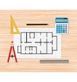 Architectural Construction Building vector image vector image
