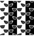 Bicolor sunglasses pattern vector image