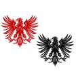 eagles heraldry vector image vector image