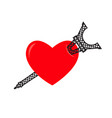 i love paris eiffel tower and heart sign i like vector image vector image