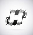 Logo for letter H vector image vector image