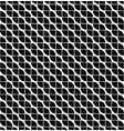 wave shapes of seamless black vector image vector image