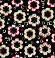 Abstract Flowers Pattern vector image