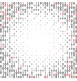 Abstract binary code technology background