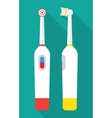 an Electric Toothbrush vector image vector image