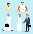 arab man in business situations sheikh
