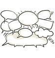 chat graphic clipart vector image