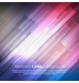 Colorful abstract lines business background vector image vector image