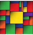 Colorful Square blank background EPS10 vector image vector image