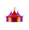 entrance circus marquee vector image vector image
