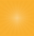 retro background centric yellow pattern s vector image vector image