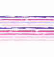retro watercolor brush stripes seamless vector image