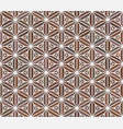 seamless japanese patternsimulation of marquetry vector image