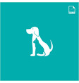 simple logo concept dog and cat for petshop and vector image vector image
