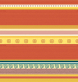 Striped Coloured Textile Backround Pattern vector image