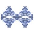 blue vintage vector image vector image