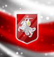 Coat of arms Belarus vector image vector image