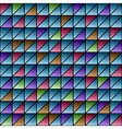 Color triangles pattern vector image