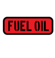 fuel oil sign on white vector image vector image
