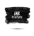 hand drawn grunge ink splat banner object for vector image