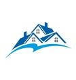 Real estate symbol vector image vector image