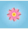 spa lotus flower vector image vector image